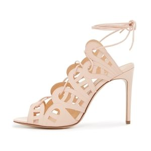 NWT Bionda Castana Hazel Sandals in Blush (39)